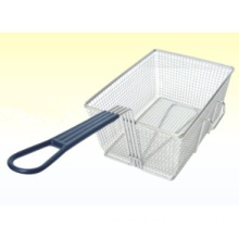 Stainless Steel Rectangular Basket for Commercial Home Use